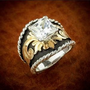 Jewelry - 🆕 Ring Womens 925 Sterling Silver 18K Plated Gold